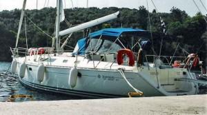 Mitsegeln auf einer Sun Odyssey 45 von der Gouvia Marina auf Korfu. Yachtcharter ebenfalls möglich.